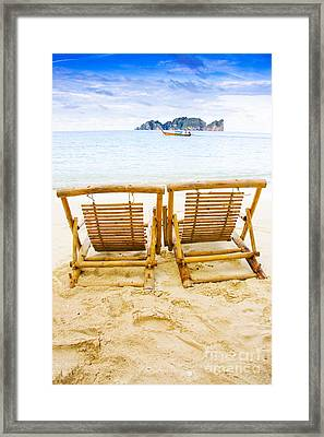 Holiday In Thai Paradise Framed Print