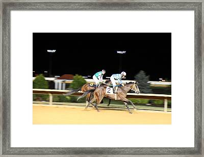 Hollywood Casino At Charles Town Races - 121210 Framed Print by DC Photographer