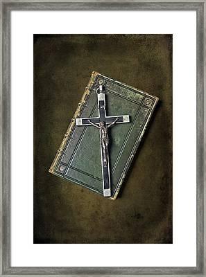 Holy Book Framed Print