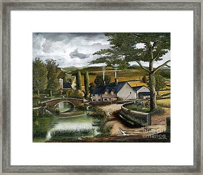 Home Farm Framed Print