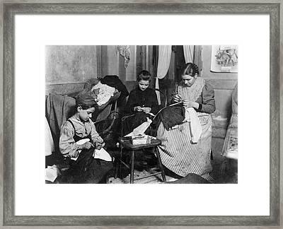 Home Industry, C1910 Framed Print by Granger