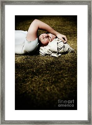 Homeless Framed Print by Jorgo Photography - Wall Art Gallery