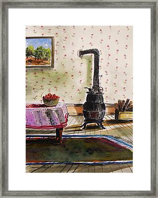 Homestead Room Framed Print by John Williams