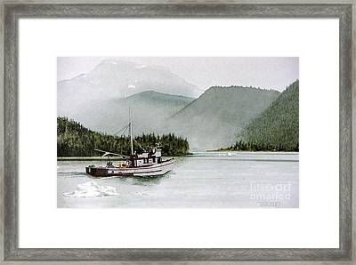 Homeward Bound Framed Print by Frank Townsley
