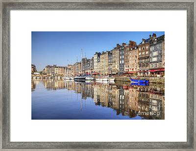 Honfleur Normandy France Framed Print by Colin and Linda McKie