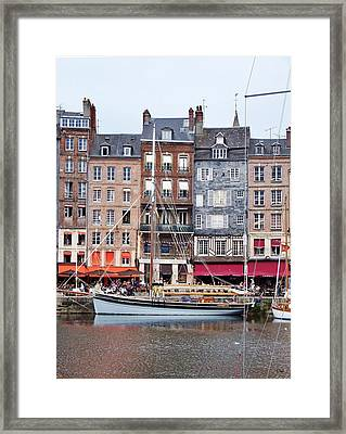 Honfleur Framed Print by Thomas Leon