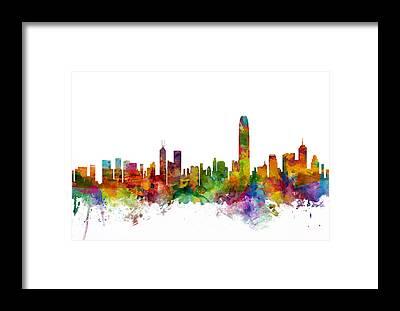 Hong Kong Framed Prints