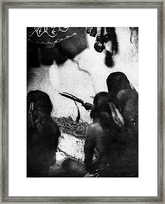 Hopi Snake Priests, 1906 Framed Print by Granger