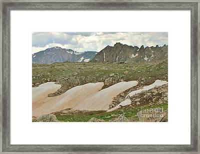 Horn Basin Framed Print by Tonya Hance