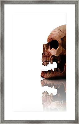 Horror Head Framed Print