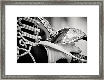 Horseguard Framed Print by Rod McLean