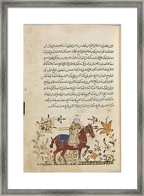Horseman Framed Print by British Library