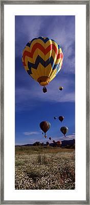 Hot Air Balloons Rising, Hot Air Framed Print