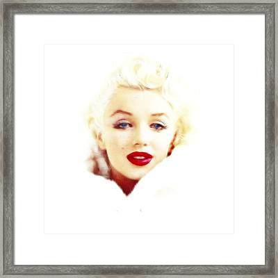 Hot And Cold Framed Print by Steve K
