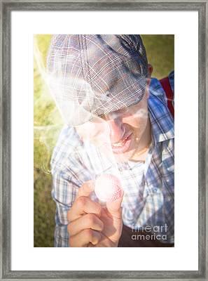 Hot Golf Framed Print