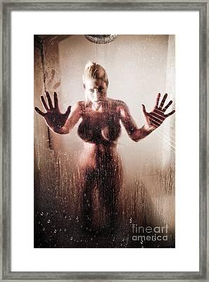Hot Shower Framed Print by Jt PhotoDesign