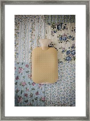 Hot-water Bottle Framed Print by Joana Kruse
