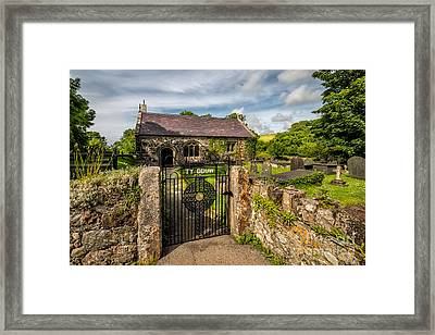 House Of God Framed Print by Adrian Evans