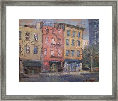 Houston And La Guardia Framed Print