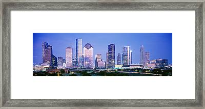 Houston, Texas, Usa Framed Print