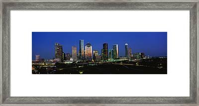 Houston Tx Framed Print