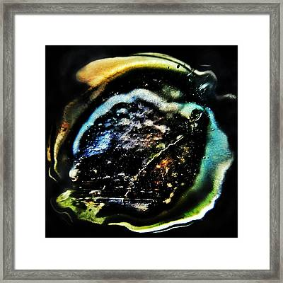 How Deep Is Your Love? Framed Print by Marianna Mills