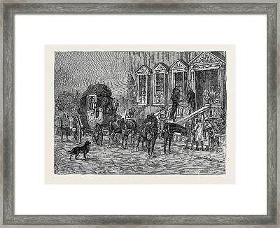 How I Joined The Hundred-and-fiftieth Framed Print by English School