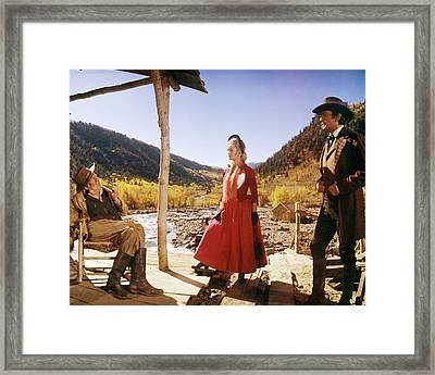 How The West Was Won  Framed Print