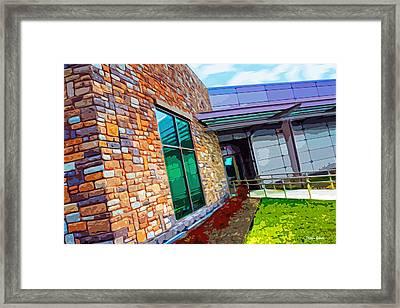 Howard County Library - Miller Branch Framed Print