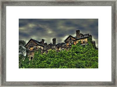 Hudson Valley Ruins Framed Print by Karl Barth