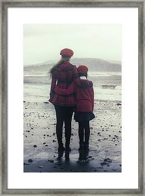 Hugging Framed Print by Joana Kruse