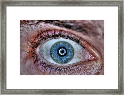 Human Eye Framed Print