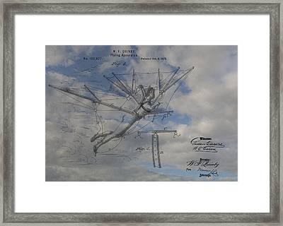 Human Flight  Framed Print