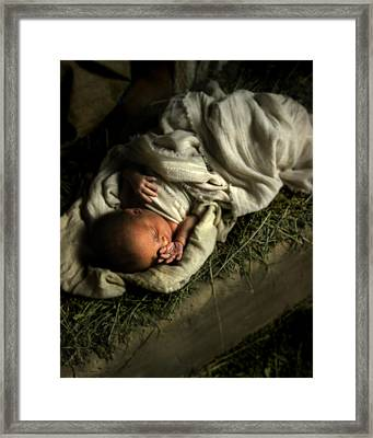 Humble Beginnings Framed Print