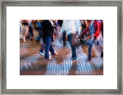 Hurry Framed Print