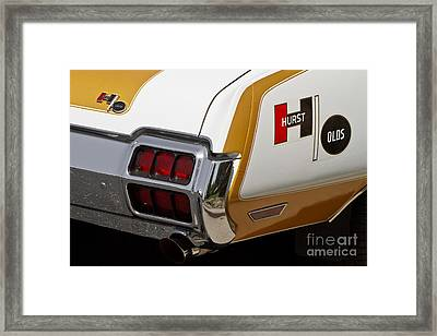 Hurst Olds Framed Print