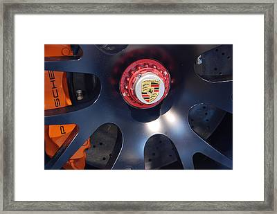 Hybrid Wheel  Framed Print