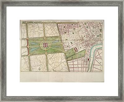 Hyde Park Framed Print by British Library