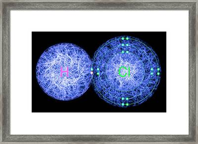 Hydrogen Chloride Framed Print by Lawrence Lawry