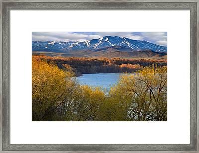 Hyrum State Park Utah Framed Print by Utah Images