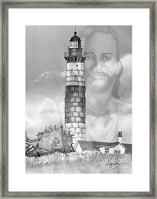 I Am The Way Framed Print by Bill Richards
