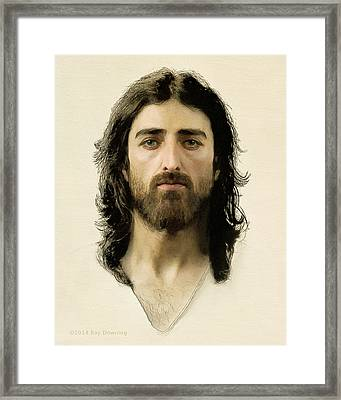 I Am The Way Framed Print