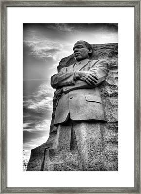 I Have A Dream  Framed Print by JC Findley