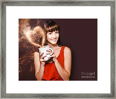 I Love Hot Coffee Framed Print by Jorgo Photography - Wall Art Gallery