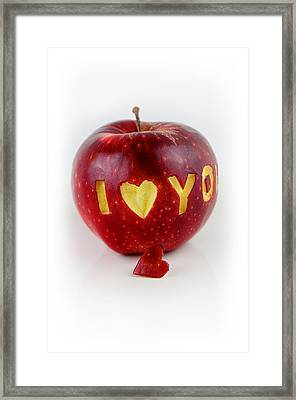 I Love You Framed Print by Gynt