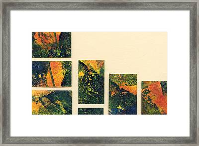 I Rise From The Ground  Framed Print by Nadia Korths