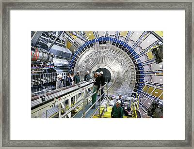 Ibl Subdetector For Atlas At Cern Framed Print by Cern