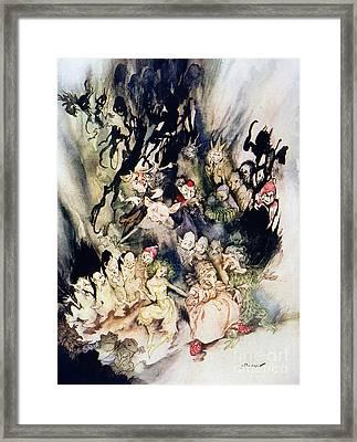 Ibsen: Peer Gynt Framed Print by Granger