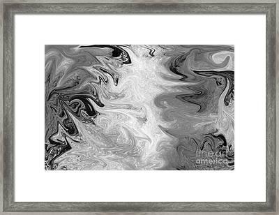 ICE Framed Print by Carol Lynch