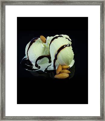 Ice Cream Cup Framed Print by Modern Art Prints